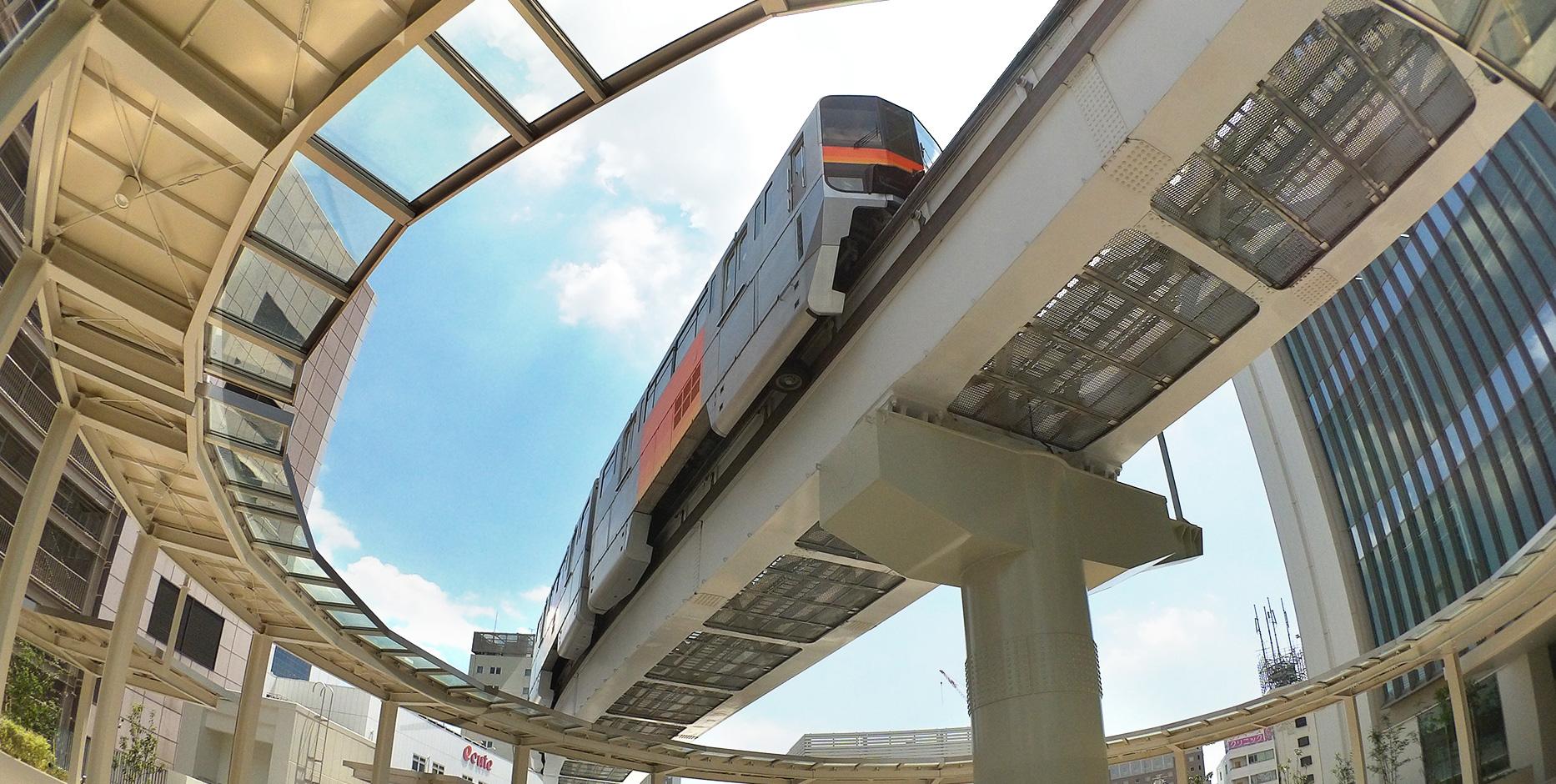 """多摩エリアの交通とコミュニケーションを支える""""まちのモノレール"""""""